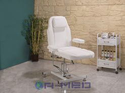 Berber Koltuğu Beyaz berber koltukları