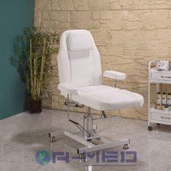 Kuaför Koltuğu Beyaz Renk kuaför koltukları