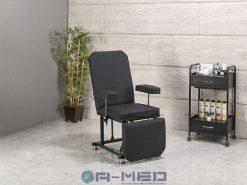 Kuaför Koltuğu Siyah Renk kuaför koltukları